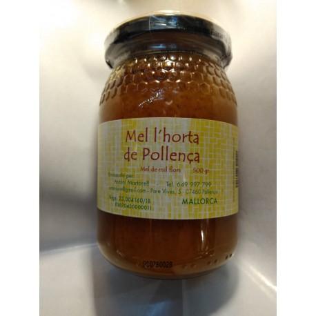 Miel cruda mil flores de Mallorca