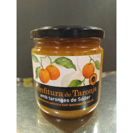 Orange Soller jam from Mallorca
