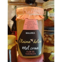 Miel cruda de flor de naranjo Mallorca